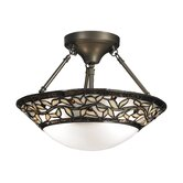 Cyprus Oaks 2 Light Semi-Flush Mount