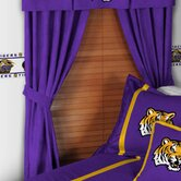 Louisiana State University Drapes and Valance