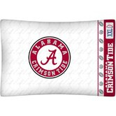 NCAA Micro Fiber Pillow Case Logo