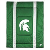 Michigan State University Sidelines Comforter