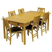 Mission Style Expanding Dining Table