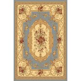 Sorrento Light Blue Aubusson Rug