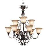 Wallis 9 Light Chandelier