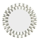 Gilbert Wall Mirror in Silver