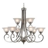 Welles 9 Light Chandelier