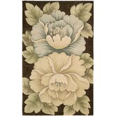 Tropics Brown Novelty Rug