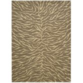 Riviera Fur Chocolate Rug