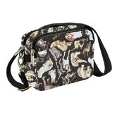 Cats and Dogs Nylon Rip stop Belt Bag / Across Body