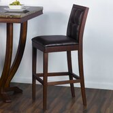 "Urbanity Verona 30"" Barstool in Antique Walnut"