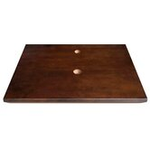 19inches Wood top w/single faucet & drain holes