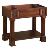 "Traditions Palermo 36"" Bathroom Vanity Cabinet in Colonial Cherry"