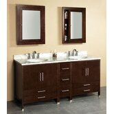 "Contempo Luna 72"" Bathroom Vanity"