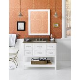 "Newcastle 42"" Wood Vanity Set"