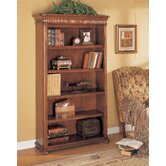 Camden Open Bookcase in Ginger Cherry