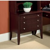 Kennett Square Lite Peninsula Drawer Base in Dark Chocolate
