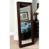 Harrison Floor Mirror in Umber Cherry