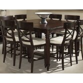 Tuxedo Park 9 Piece Counter Height Dining Set
