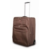 "Chateau 24"" Upright Suitcase in Mocha"