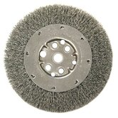 "Narrow Face Crimped Wire Wheels-DM Series - dm6x .008/ss crimped wire wheel 5/8-1/2"" ar"