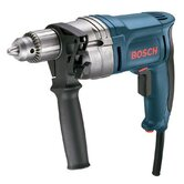 "Amp, 0-850 RPM, 1/2"" Variable High Speed, Reversible Drill With Heavy Duty Keyed Chuck"