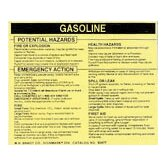 Mat Gasoline Labels (25 Per Package)