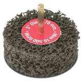 "Cgw Abrasives - Ez Strip Wheels, Non-Woven 3"" Black Double Ez Strip1/4"" (75Mm): 421-70053 - 3"" black double ez strip1/4"" (75mm)"