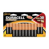 Batteries, AA, 20/PK
