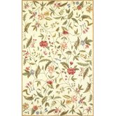 Colonial Ivory Floral Rug