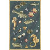Colonial Deep Sea Dives Novelty Rug