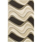 Eternity Mocha/Ivory Waves Rug