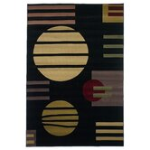Moda Black Rug