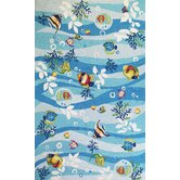 Sonesta Tropical Fish Novelty Rug