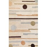 Milan Beige Horizons Rug