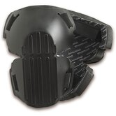 ProFlex Long Copolymer Hard Cap Knee Pad in Black