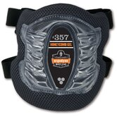 ProFlex Short Cap Honeycomb Gel Knee Pad in Black