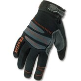 ProFlex 845 Full-Finger Lightweight Trades Gloves in Black