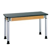 Adjustable Height Science Table With ChemArmor Top