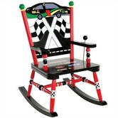 Rock A Buddies Car Kid Rocking Chair