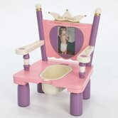 "Her Majesty's Throne ""Princess"" Potty Chair"