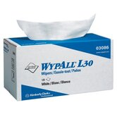 WypAll&reg; L30 Wipers - 11&quot;x10.4&quot; white wypall l30 economy wiper 120/box