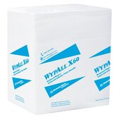 WypAll&reg; X60 Wipers - wypall x60 teri wiper 13&quot;x13.5&quot;white 76/roll