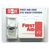 Contractor's First Aid & Eye Flush Stations - contractor first aid &eyewash station