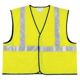 Class Ii Economy Safety Vests Class Ii Solid Poly Fluorescent Lime Safety Vest: 611-Vcl2Slx3 - class ii solid poly fluorescent lime safety vest