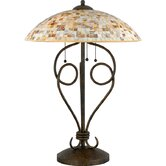 Monterey Mosaic  Table Lamp in Malaga