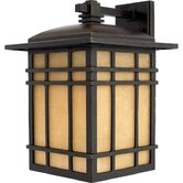 "15.5"" Hillcrest Outdoor Wall Lantern in Imperial Bronze"