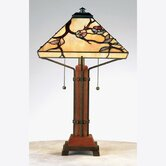 Grove Park Tiffany  Table Lamp in Multi