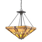 Finton 2 Light Inverted Pendant
