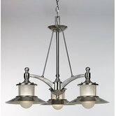 New England 3 Light Chandelier