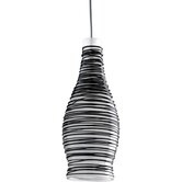 Illuma-Flex Mini Pendant Wine Bottle in Brushed Nickel