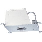 "4"" Low Voltage (MR 16) Housing: New Construction Air Tight and IC"